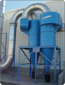 Trema Cyclone India, Aerosol Separators TREMA, Environmental Engineering Trema,Trema-Cyclones. Spares & Services, Trema designs, Manufacturers, Export & Suppliers From India